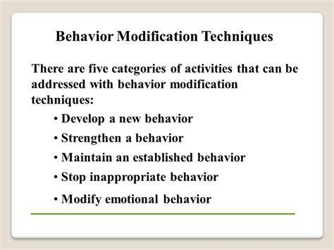 Modification Of Behaviour by Behavioral Performance Management Ppt