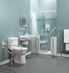 salle de bain pour handicape et mobilite reduite handibat pmr With meuble salle de bain handicapé