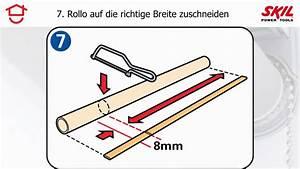 Rollo Selber Nähen : schritt f r schritt anleitung selbst rollos nach ma anfertigen und aufh ngen youtube ~ A.2002-acura-tl-radio.info Haus und Dekorationen