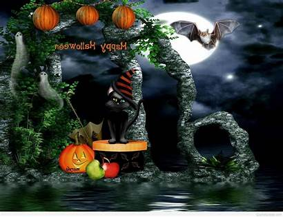 Halloween Happy Witches Scary Greetings Pumpkins