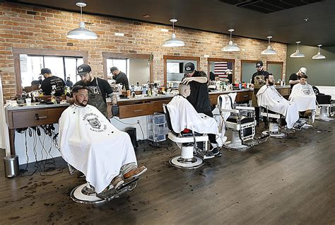 At new Whitman barber shop, a medium regular can mean two ...