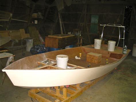 diy duck flat wooden boat     build