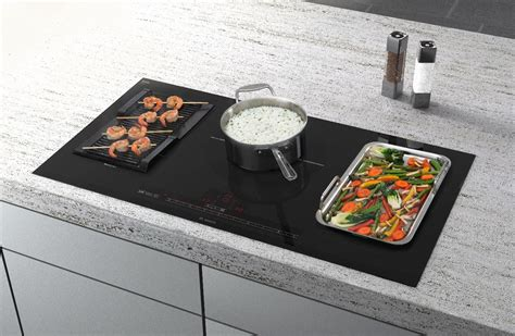 Gas, Induction, Electric Bosch cooktops designed with you