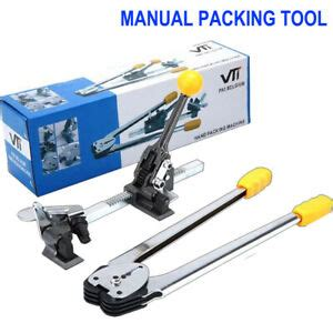 manual strapping tool packing wrapping machine equipment plastic strap tensioner ebay