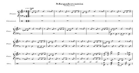 In this tutorial, i'll show you how to play megalovania on a piano. I wrote some sheet music on piano for Megalovania. Feel ...