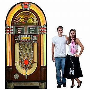 This Giant Fifties Jukebox Standee looks just like the