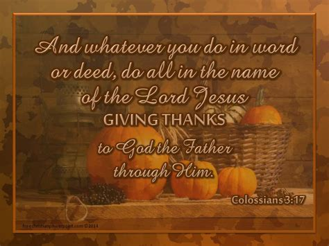 thankful living colossians