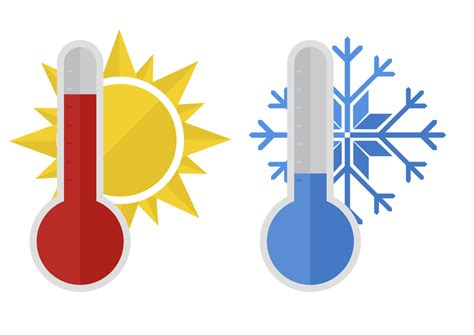 Hot And Cold Thermometer | Free download on ClipArtMag