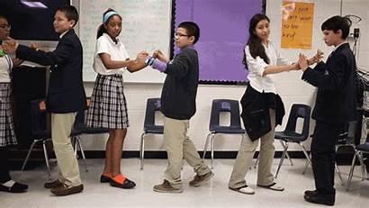 Students Class Etiquette College Single Young Classes