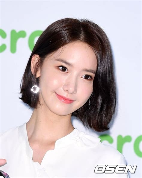 yoona hair style photo 少女時代 ユナ シューズブランドのリリースイベントに出席 短い髪に視線集中 5814