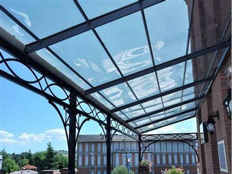 copertura trasparente per tettoia coperture in policarbonato tettoie in policarbonato per