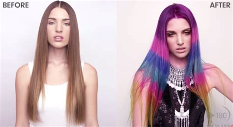 25+ Best Ideas About Color Block Hair On Pinterest