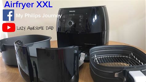 philips airfryer avance collection xl xxl recipes unboxing