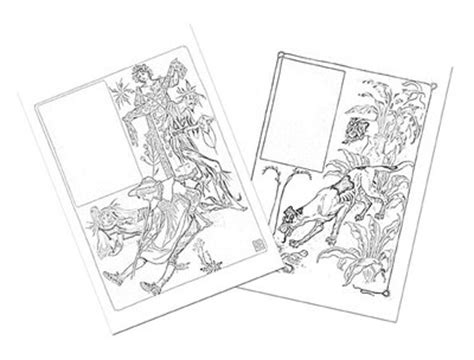 floral fantasy colouring pages  craft