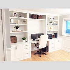 Builtin Desk Reveal  Hometalk