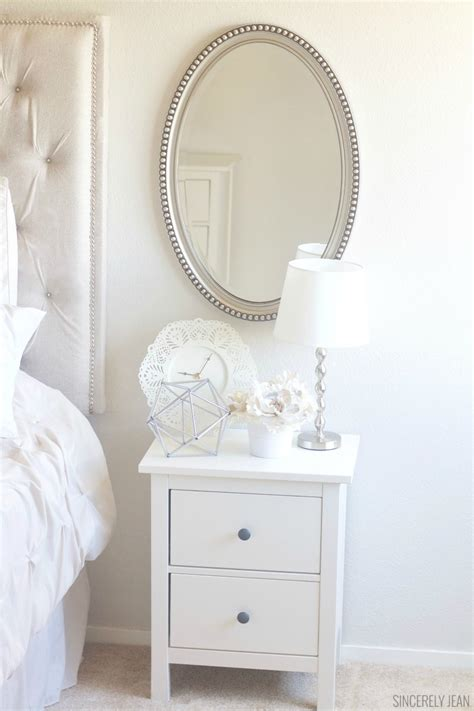 Cheap Nightstand Ideas by Nightstand Decor On A Budget Sincerely Jean