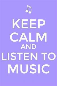 Keep Calm Music Quotes. QuotesGram