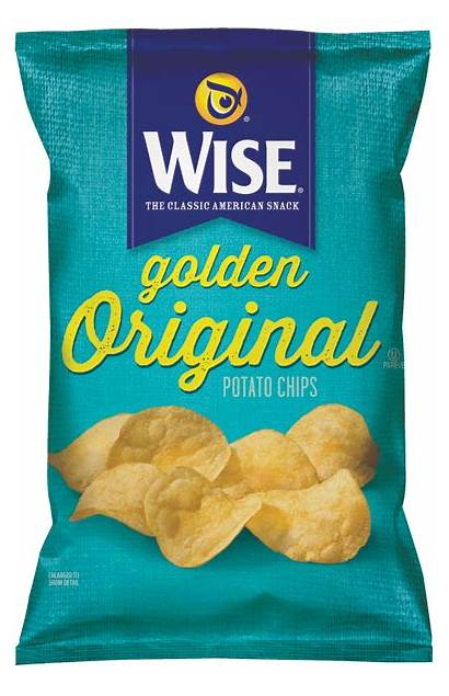 Wise Potato Chips Snacks Foods Snack Golden