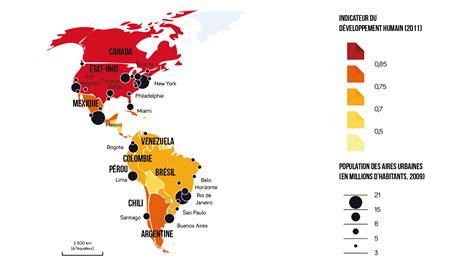 Carte Du Monde Continent Americain by Le Continent Am 233 Ricain Entre Tensions Et Int 233 Grations