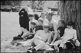 Robert Kennedy with nine of his children at their Hicory ...