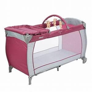 HAUCK Lit Parapluie Baby Center Prune Achat Vente Lit