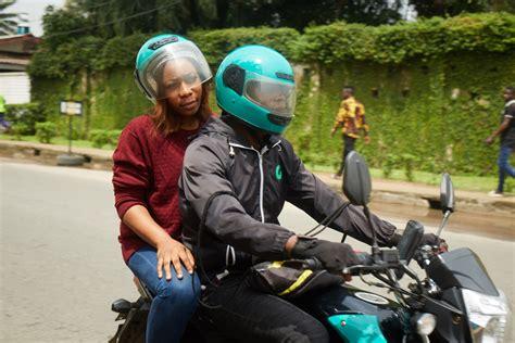 gokada nigerias uber  motorcycle taxi