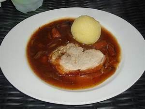 Schweinebraten In Dunkelbiersoße : bayerischer schweinebraten mit biersauce von minnimooh ~ Lizthompson.info Haus und Dekorationen