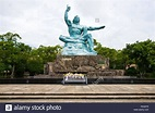 Nagasaki Peace Memorial Statue Park Japan Asia Kyushu ...