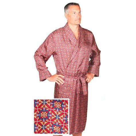 robe de chambre homme en soie robe de chambre en soie bourgogne assorti homme