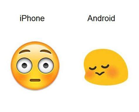 emoji android to iphone as 237 es como se ven los emojis en iphone vs android le