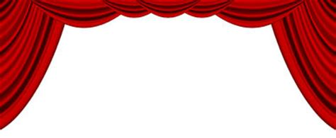 theater stage with curtain white background stock images image 37741654