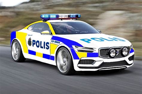 realized i never seen a c90 police car before so i made one sweden