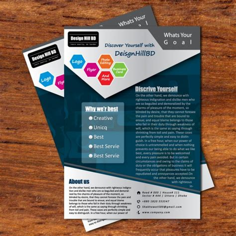 Car Wallpapers Free Psd Flyer Stock by Business Flyer Blueish Black Flyer Design By