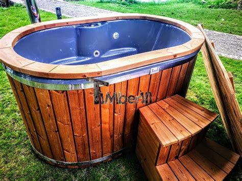 Whirlpool Garten Kaufen by Au 223 Enwhirlpools Holzofen Badezuber Badefass F 252 R Drau 223 En