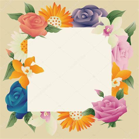 marco flores vintage Vector de stock © AlxYoel #106136580