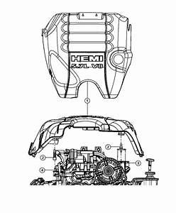 Ram 1500 Cover  Engine  5 7l  Crew Cab
