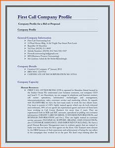 5+ company business profile template | Company Letterhead