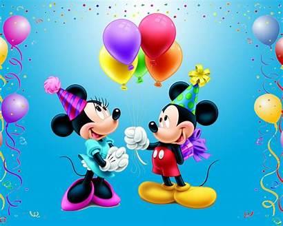 Mouse Mickey Happy Birthday Mini Disney Minnie
