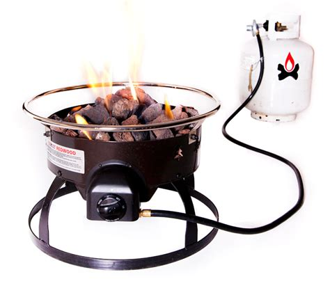 portable propane pit c chef redwood portable propane pit sportsman s