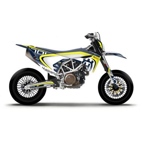 Motorradaufkleber  Bikedekore  Wheelskinzz Husqvarna
