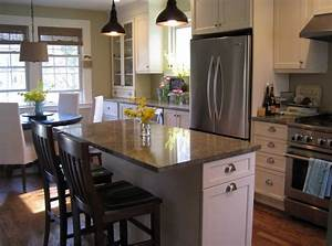 how to design a small kitchen with seating and dining room With small kitchen island designs ideas plans