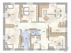 Grundrisse Für Bungalows 4 Zimmer : bungalow voll verblendet 160m mit w rmed mmung nach wofiv ihr haus bauen als massivhaus t s ~ Sanjose-hotels-ca.com Haus und Dekorationen