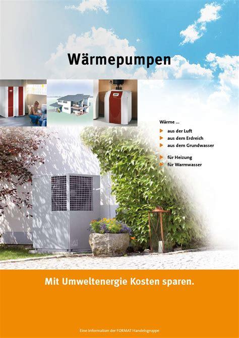 lüftungsanlage mit wärmerückgewinnung kosten prospekt w 228 rmepumpen mit umweltenergie kosten sparen by finish werbeagentur issuu