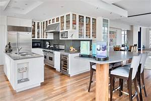 rustic white kitchens with wood floors 1520