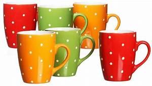 Ritzenhoff Und Breker Fabrikverkauf : ritzenhoff und breker 736977 kaffeebecher set points 6 teilig rot gr n orange sortiert ~ Buech-reservation.com Haus und Dekorationen