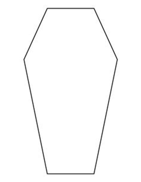 Coffin Cake Template by Pattern Use The Printable Outline For Crafts