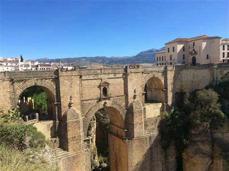 Ronda Málaga Andalusia Spain Sungrl