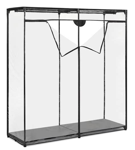 new portable closet wardrobe clothes garment rack 60