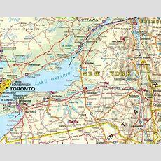 Carte Routière New York