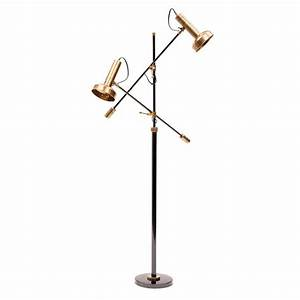 Beautifully tough 14 timeless brass floor lamp ideas for Chunky brass floor lamp